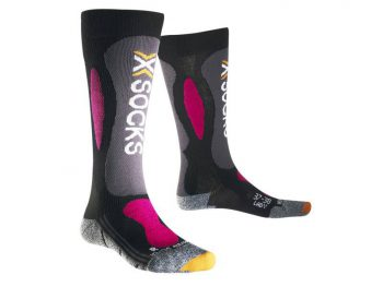 Skarpety X-Socks Ski Carving Silver Lady B117 2019 najtaniej