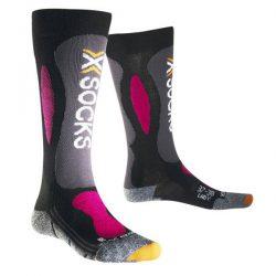 Skarpety X-Socks Ski Carving Silver Lady Black Violet B117 2018 najtaniej