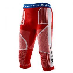 Spodnie termoaktywne 3/4 X-Bionic Energy Accumulator EVO Patriot Edition USA 2019 najtaniej
