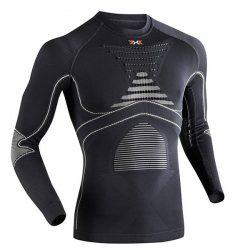 Koszulka termoaktywna X-Bionic Energy Accumulator EVO Man Charcoal Pearl Grey G087 2018 najtaniej