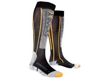 Skarpety X-Socks Ski Silver Adrenaline Black Orange B078 2019 najtaniej