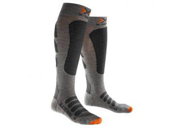 Skarpety X-Socks Ski Silk-Merino Man Grey Anthracite G519 2019 najtaniej
