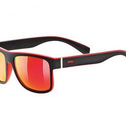 Okulary Uvex Lgl 21 Black Mat Red najtaniej