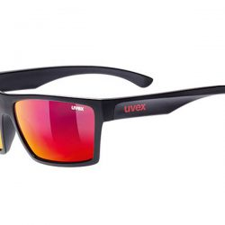 Okulary Uvex Lgl 29 Black Mat Mirror Red najtaniej