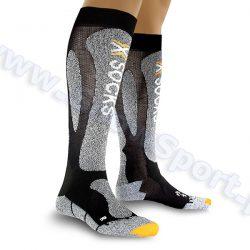 Skarpety X-Socks Ski Carving Silver black grey melange najtaniej