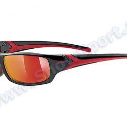 Okulary Uvex Sportstyle Sgl 211 Black Red 2213  2015 najtaniej