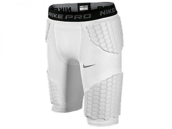 Spodenki ochronne Nike Pro Combat White Jr najtaniej
