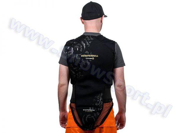 Ochraniacz na kręgosłup KOMPERDELL Cross Protector Vest + Belt kamizelka ochronna z pasem najtaniej