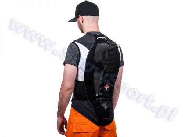 Ochraniacz na kręgosłup KOMPERDELL Airshock Protector Vest + Belt kamizelka ochronna z pasem najtaniej