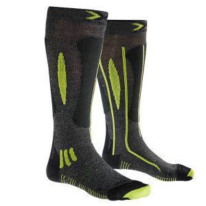 Skarpety X-Socks Effektor xbs. Ski Race Grey Black Lime G492 2019 najtaniej