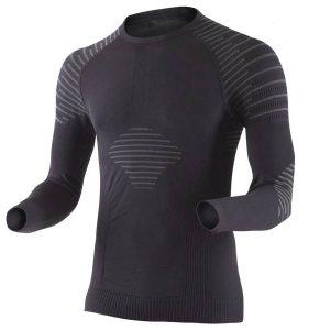 Koszulka termoaktywna X-Bionic Invent Man Black Anthracite B014/X13 2019 najtaniej