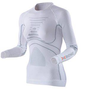 Koszulka termoaktywna X-Bionic Energy Accumulator EVO Woman White Pearl Grey W106 2019 najtaniej