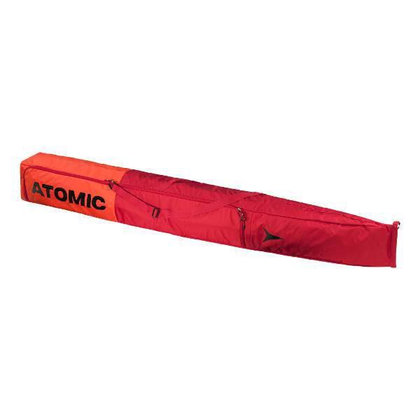 Pokrowiec na narty ATOMIC Double Ski Bag Red/Bright RED 205 2018 najtaniej