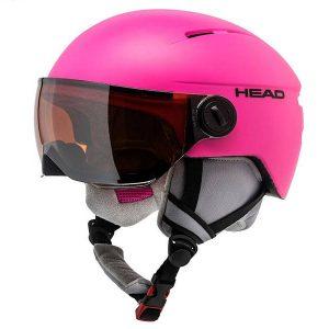 Kask z przyłbicą szybą HEAD Squire Pink 2018 najtaniej