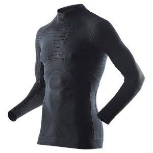 Koszulka termoaktywna z golfem X-Bionic Energy Accumulator EVO Man B026 Black 2019 najtaniej