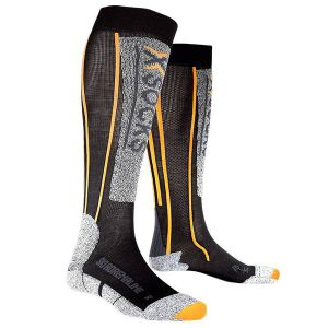 Skarpety X-Socks Ski Silver Adrenaline Black Orange B078 2019 najtaniej