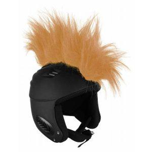 Włosy na kask - Ski Fix - Apache Brown 2018 najtaniej
