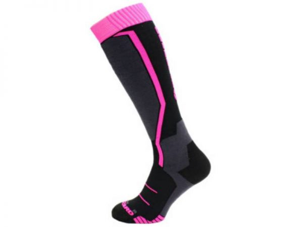 Skarpety Blizzard Viva Allround Ski Socks Junior Black Anthracite Magenta 2018 najtaniej