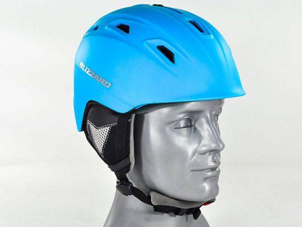 Kask BLIZZARD Demon ski Neon Blue Matt 2018 najtaniej