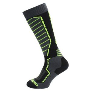 Skarpety Blizzard Profi Ski Socks Black Anthracite Signal Yellow 2018 najtaniej