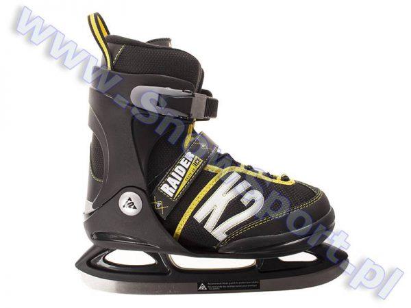 Łyżwy K2 Jr Raider Ice 2018 najtaniej