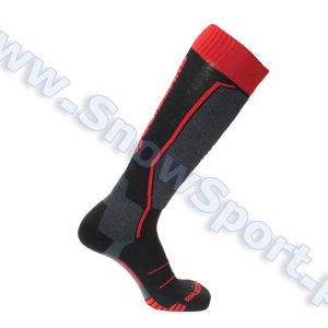 Skarpety Blizzard Allround Ski Socks Black Anthracite Red 2018 najtaniej
