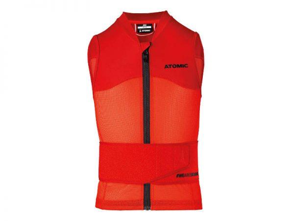 Ochraniacze na narty / Kamizelka Atomic LIVE SHIELD Vest JR Red 2019 najtaniej