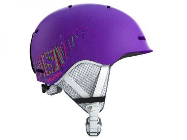 Kask SALOMON GROM Purple Mat 2019 najtaniej