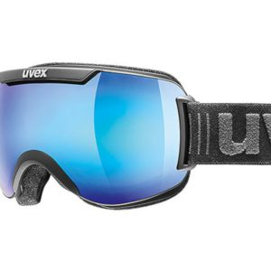 Gogle UVEX Downhill 2000 FM Black Mat Mirror Blue Clear (2426) 2019 najtaniej
