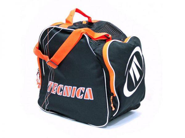 Pokrowiec na buty Tecnica Skiboot Bag Premium Black/Orange 2019 najtaniej
