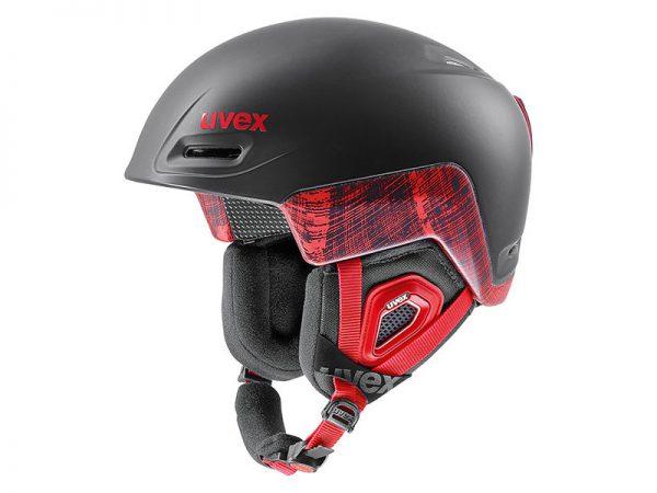 Kask UVEX Jimm Octo+ Black Red Mat 2019 najtaniej