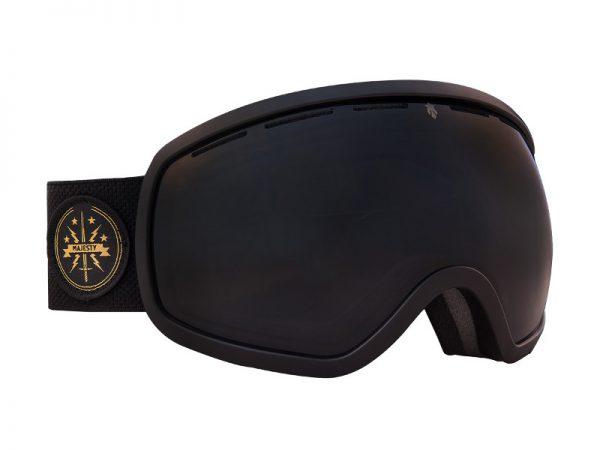 Gogle Majesty One 11 Black/Black Pearl + dodatkowa soczewka 2019 najtaniej