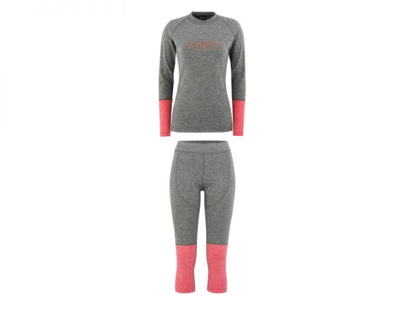 Zestaw Bielizny Technicznej Majesty Cover Lady Base Layer SET Grey/Pink 2019 najtaniej