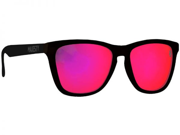 Okulary Majesty M+ Black with Purple Mirror Lenses najtaniej