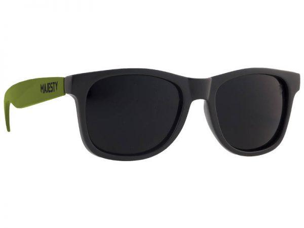 Okulary Majesty L+ Black/Army Green with Black Lenses najtaniej