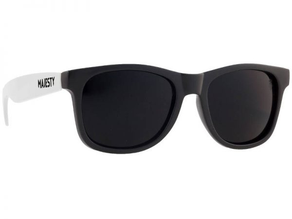Okulary Majesty L+ Black/White with Smoke Lenses najtaniej