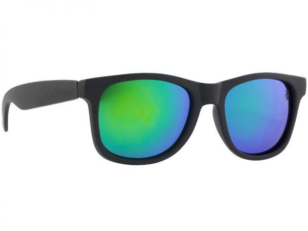 Okulary Majesty L+ Black/Polished Black with Green Lenses najtaniej