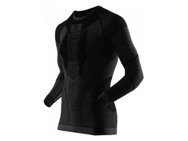 Koszulka termoaktywna X-Bionic Apani Merino Men Black B026 2019 najtaniej