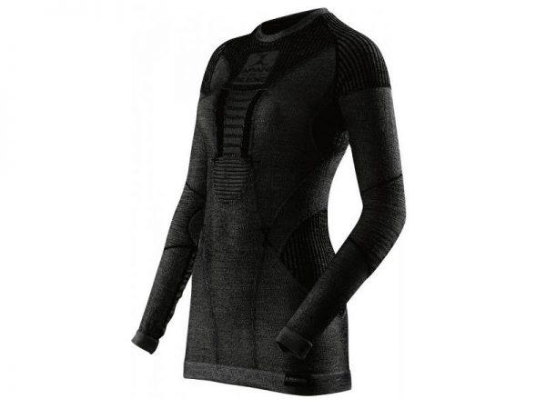 Koszulka damska termoaktywna X-Bionic Apani Merino Men Black B026 2019 najtaniej