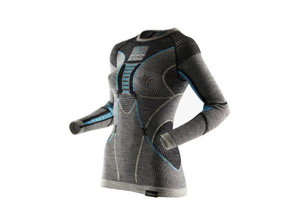 Koszulka damska termoaktywna X-Bionic Apani Merino Grey B284 2019 najtaniej