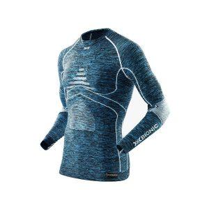 Koszulka termoaktywna X-Bionic Energy Accumulator EVO Man Blue Melange White A598 2019 najtaniej