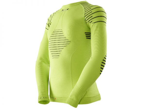 Koszulka termoaktywna X-Bionic Invent Junior Yellow E173 2019 najtaniej