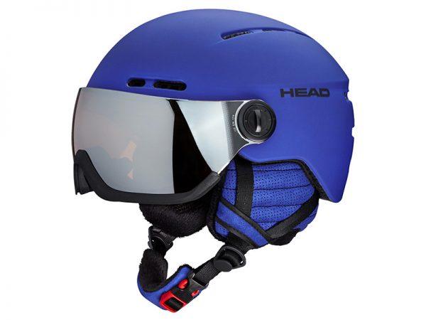 Kask z przyłbicą szybą HEAD Knight Blue 2019 najtaniej