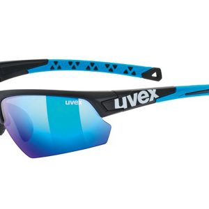 Okulary Uvex Sportstyle 224 Black Mat Blue 2019 najtaniej
