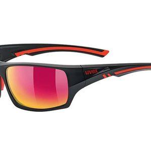 Okulary Uvex Sportstyle 222 Black Mat Red Polaryzacja najtaniej