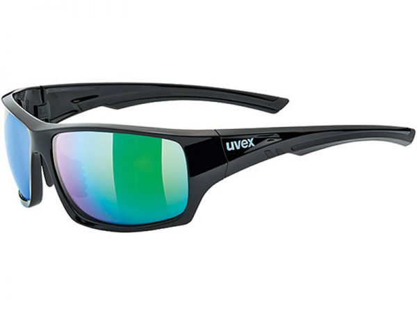 Okulary Uvex Sportstyle 222 Black Green Polaryzacja najtaniej