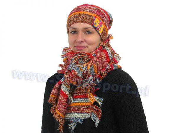 Komplet czapka i szalik Loman Marylin 109 2014 najtaniej