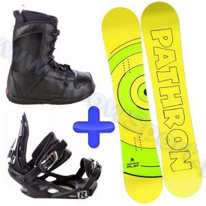 Zestaw deska Pathron Play + wiązania Raven S200 + buty Raven Target 2014 najtaniej