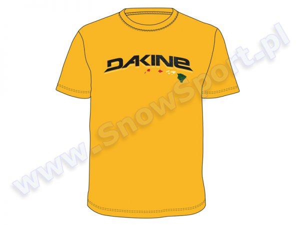 Koszulka Dakine Arch Rail Tee Gold najtaniej