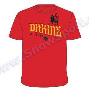 Koszulka Dakine Lion Tee Red najtaniej